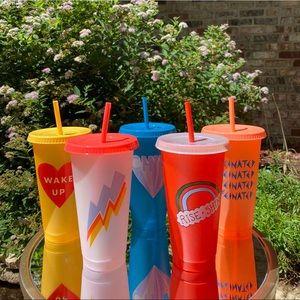 Starbucks Summer 2020 Reusable Neon Cups